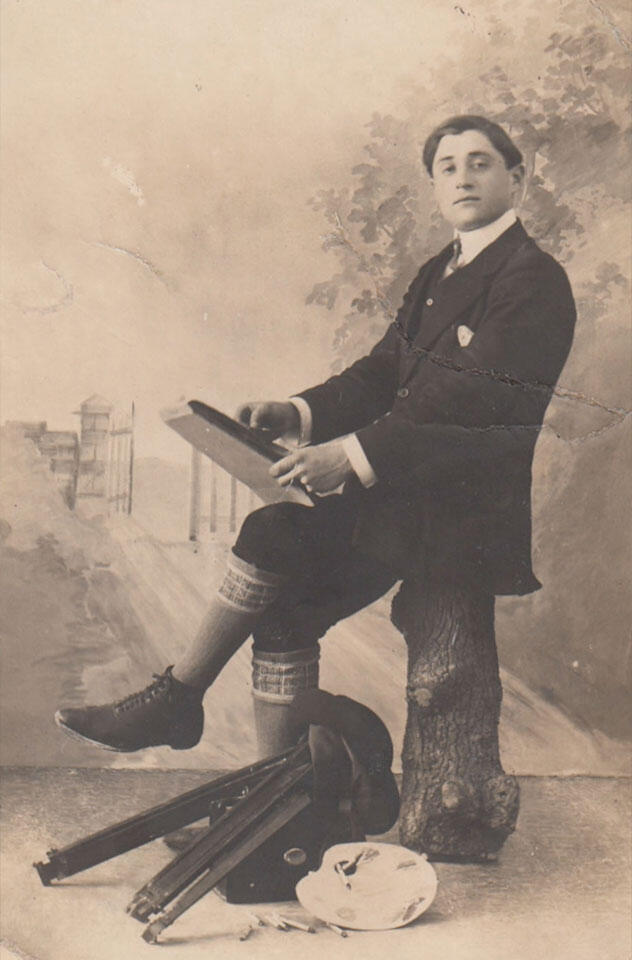 Carlo Basilico, Torino 1915