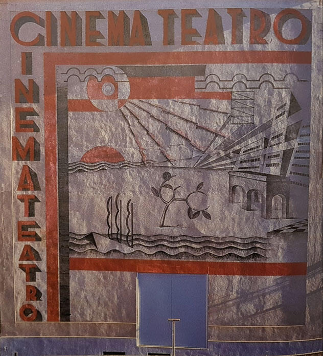 Murale del Cinema Teatro, Chiasso, 1935